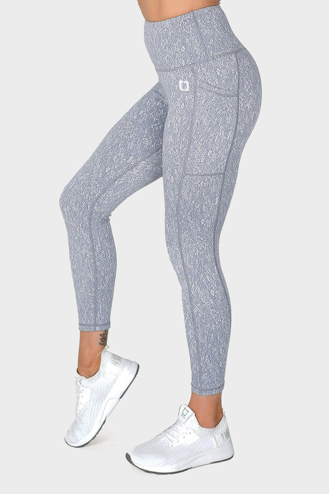 Deluxe 8/9 Highwaisted Leggings - Sky