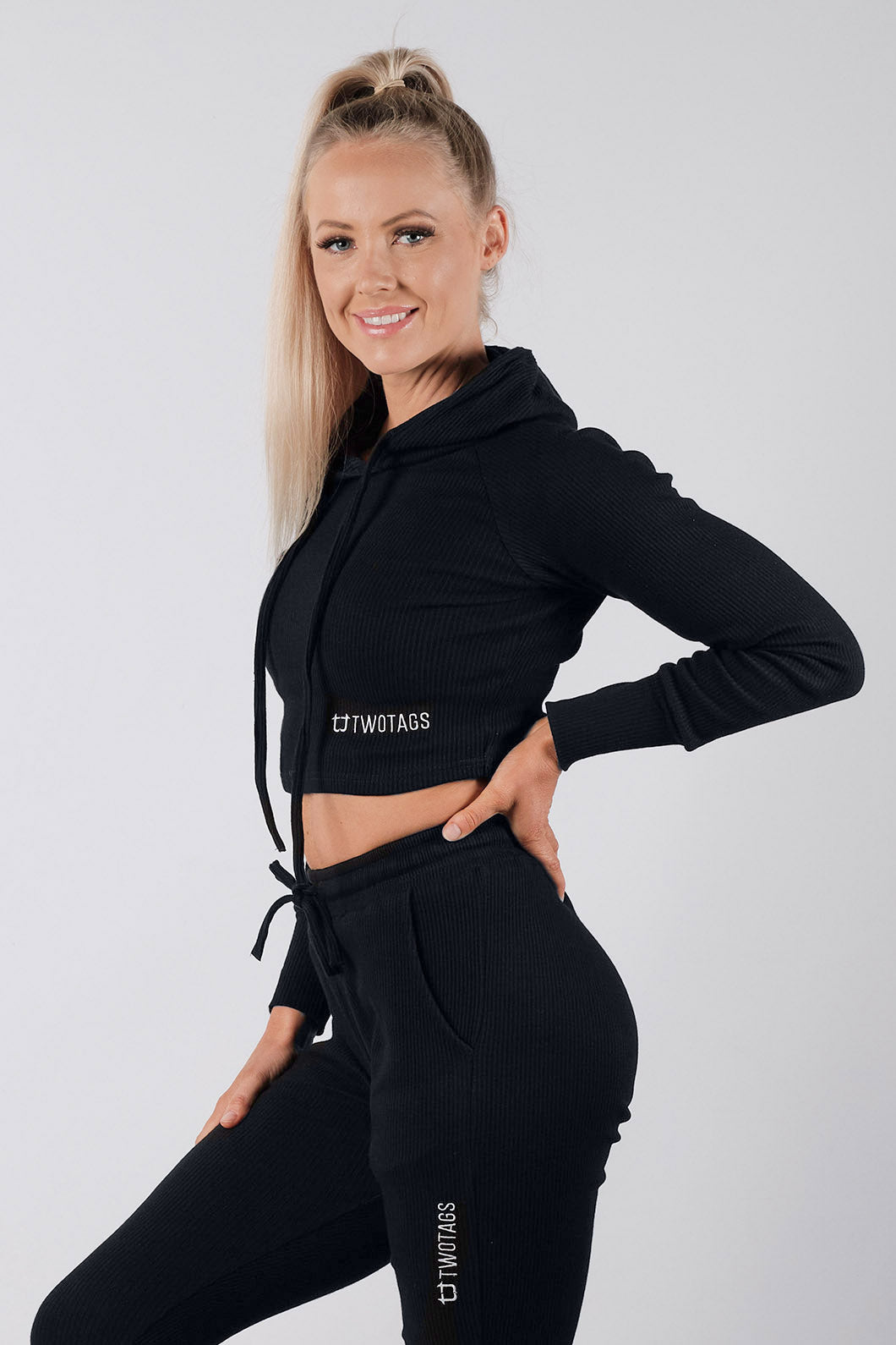Dream Lounge Hoodie - Black