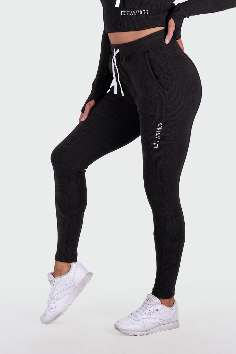 Dream Highwaisted Jogger - Black