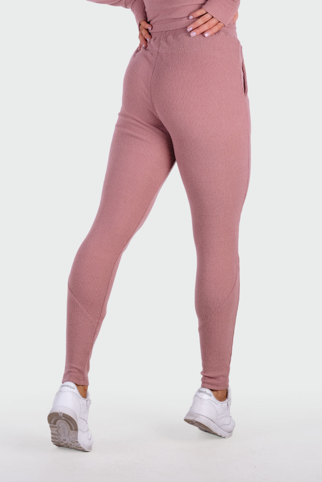Dream Highwaisted Jogger - Dusty Rose