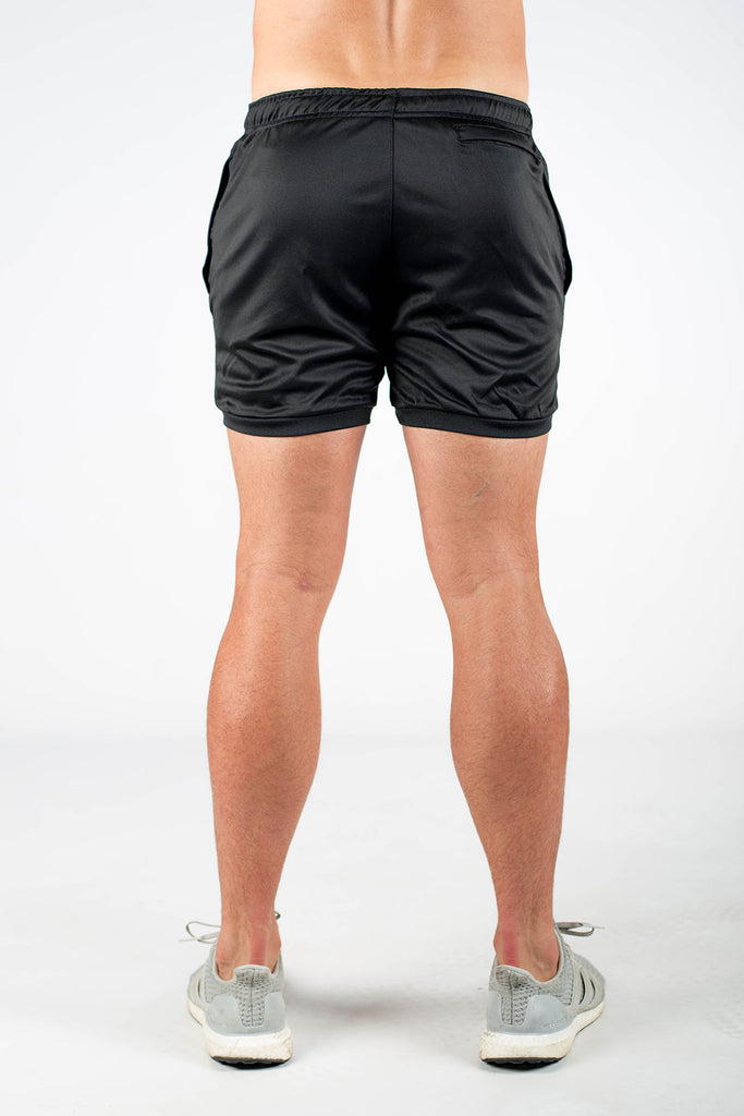 Twotags Dry Active Shorts - Black
