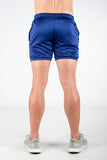 Twotags Dry Active Shorts - Navy Blue