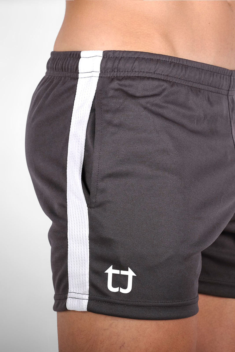 Twotags Dry+ V3 Shorts - Charcoal Grey