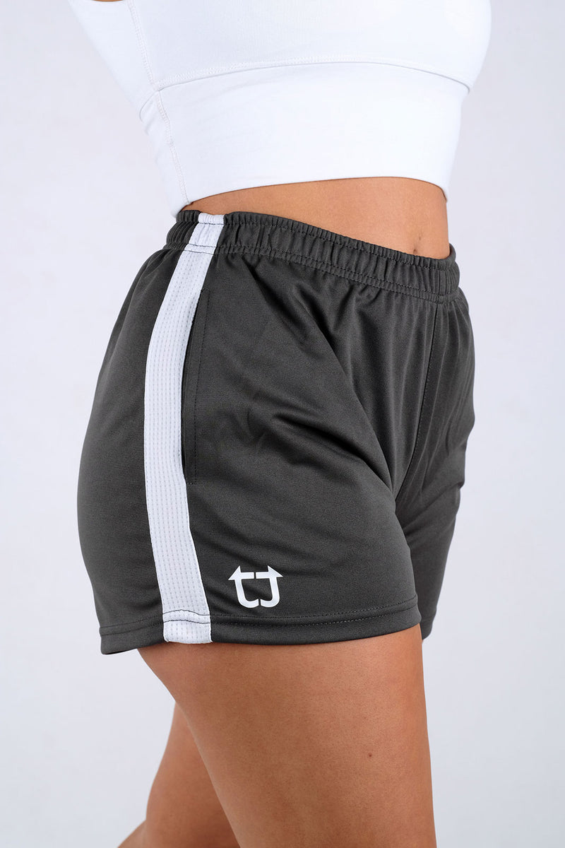 Ladies Dry+ Shorts - Charcoal Grey