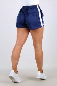 Ladies Dry+ Shorts - Navy Blue