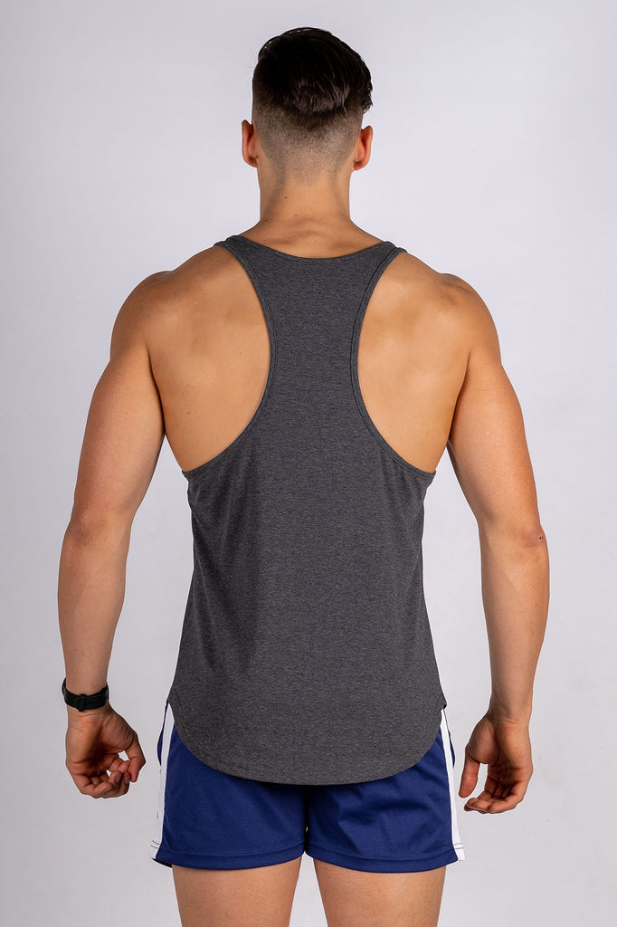 Twotags Intrepid Stringer - Charcoal Grey