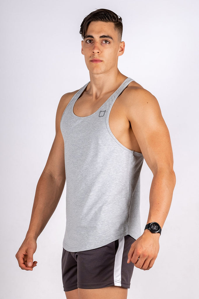 Twotags Intrepid Stringer - Heather Grey