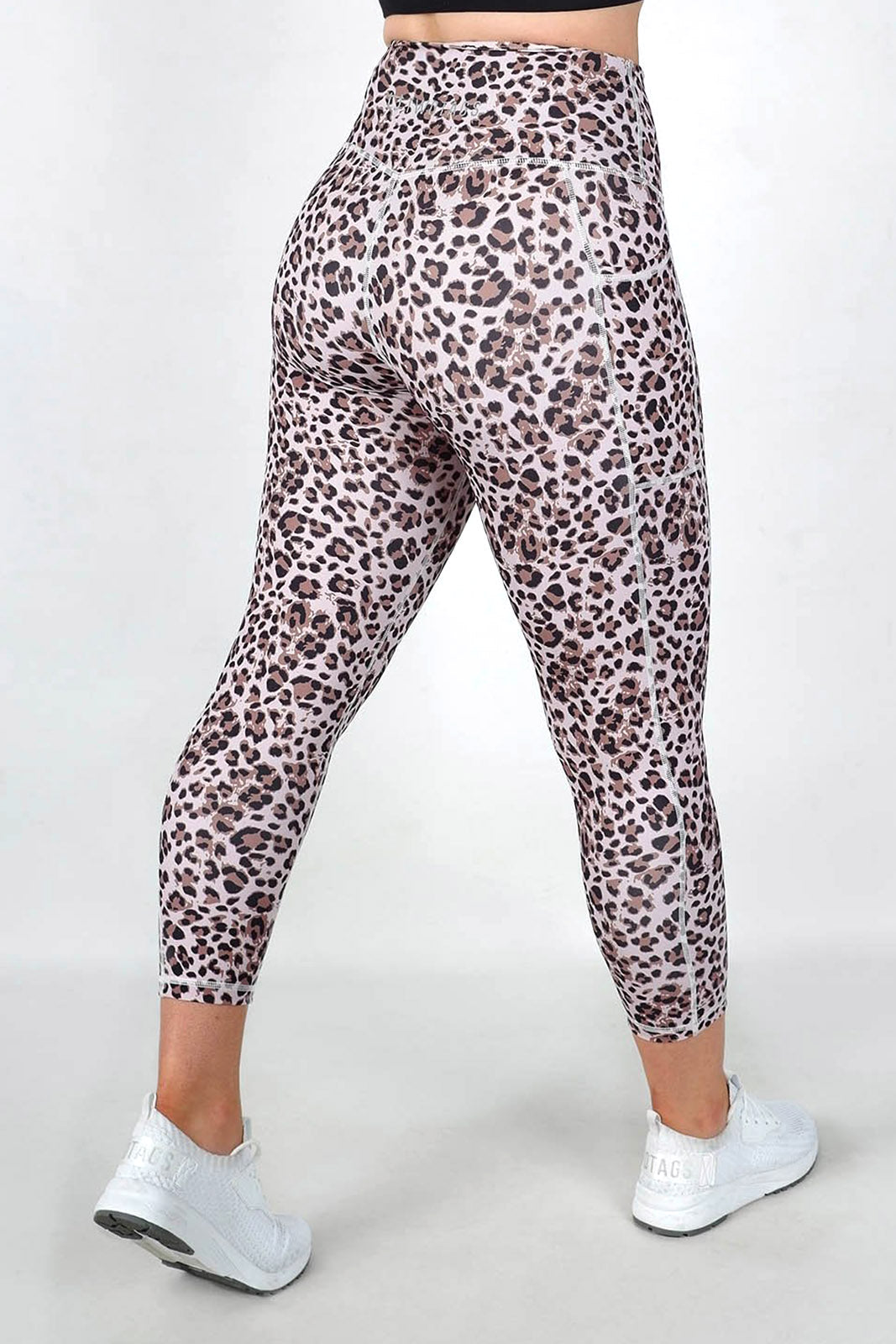 Leopard 8/9 Highwaisted Leggings - Fawn Leopard