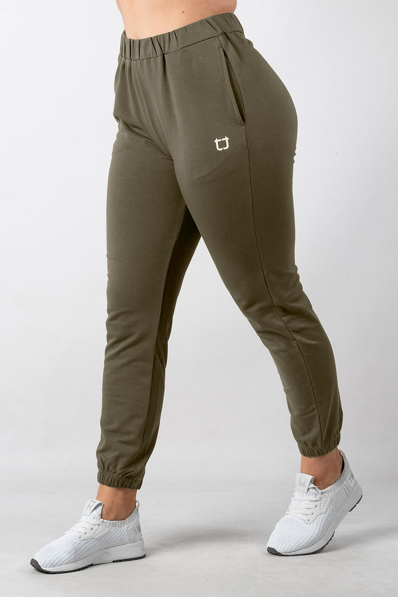 Luna Highwaisted Jogger - Khaki