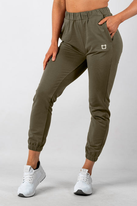 Dream Lounge Highwaisted Jogger - Plum