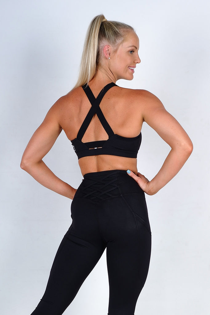 Scope Sports Bra - Black