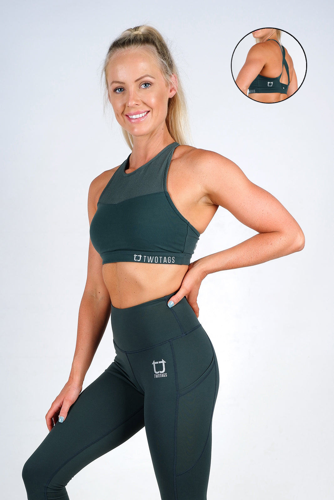 Scope Sports Bra - Emerald