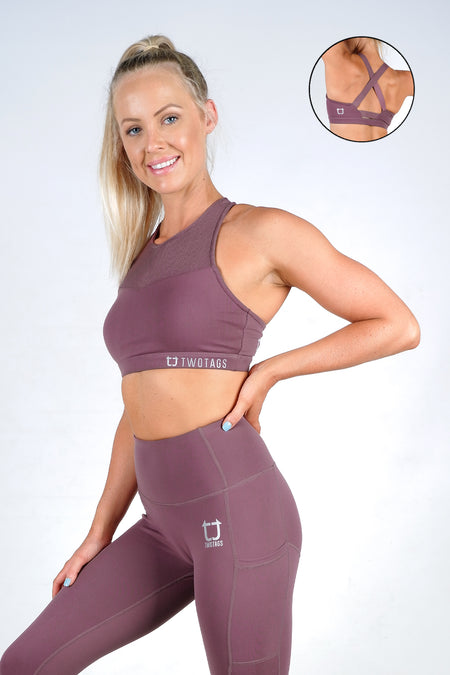 Seamless Movement Sports Bras - Charcoal Marl
