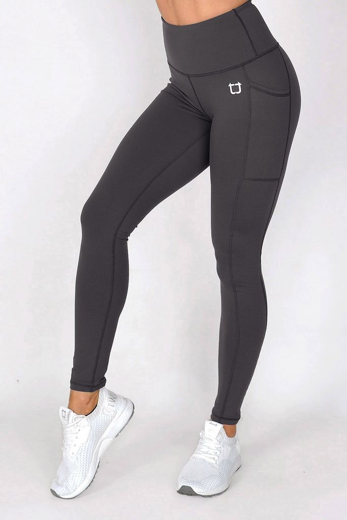 Scrunch V3 Highwaisted Leggings - Graphite