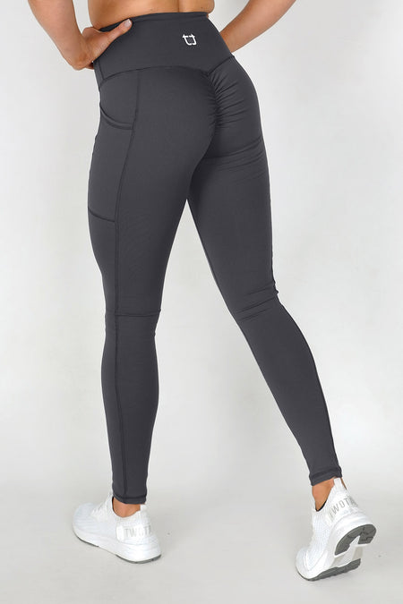 Sweetheart 7/8 Highwaisted Leggings - Periwinkle