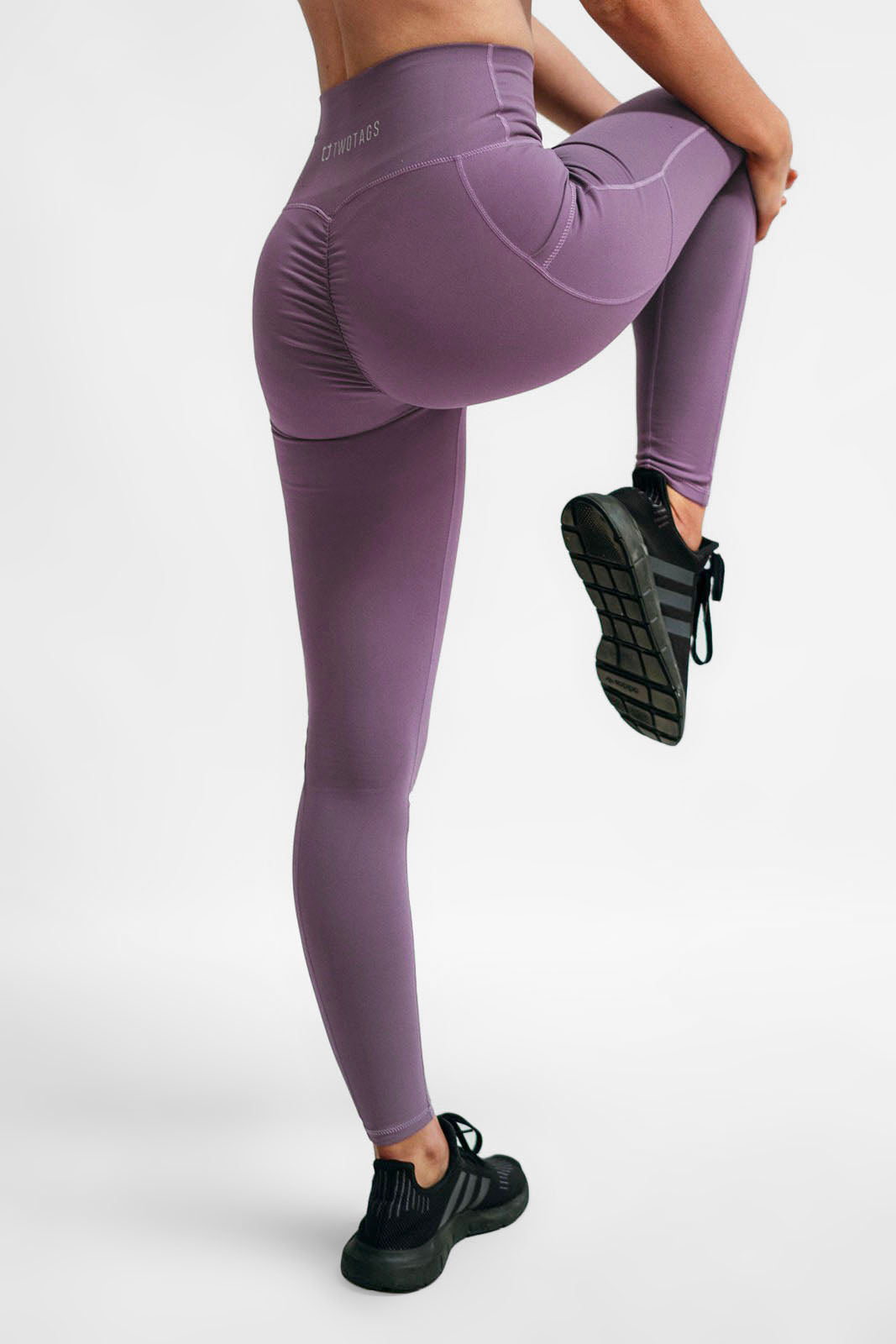 4d815ce04f137 Scrunch Highwaisted Leggings - Lavender – Twotags
