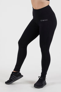 Scrunch V2 Highwaisted Leggings - Black