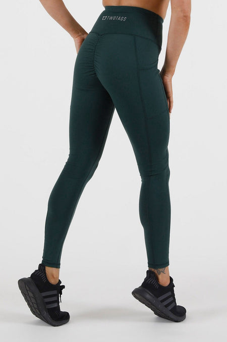 Essential Highwaisted Leggings - Black