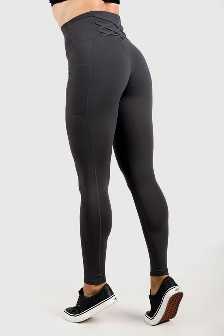 Balance Highwaisted Leggings - Grape