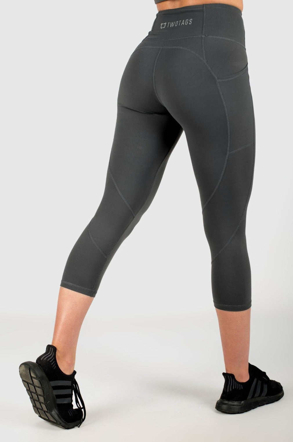 Sweetheart 7/8 Highwaisted Leggings - Slate Grey