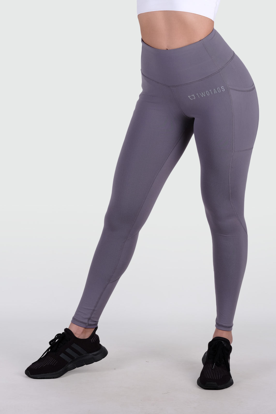 Sweetheart Highwaisted Leggings - Periwinkle