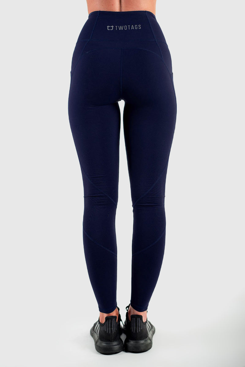 Sweetheart Highwaisted Leggings - Navy Blue