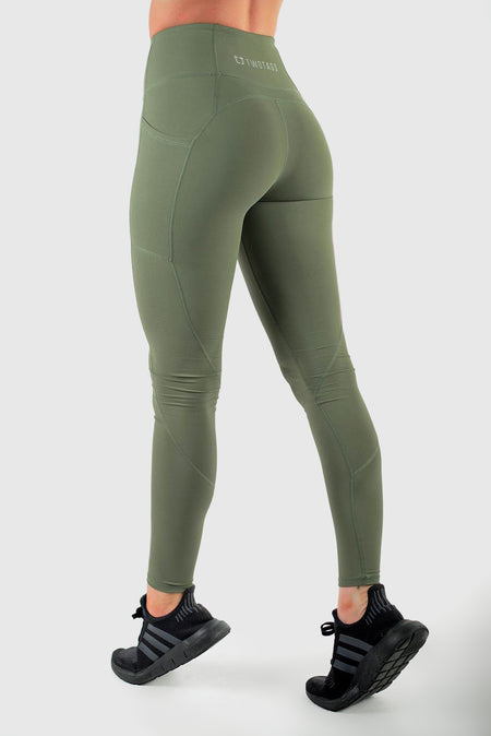 Scrunch Highwaisted Leggings - Teal