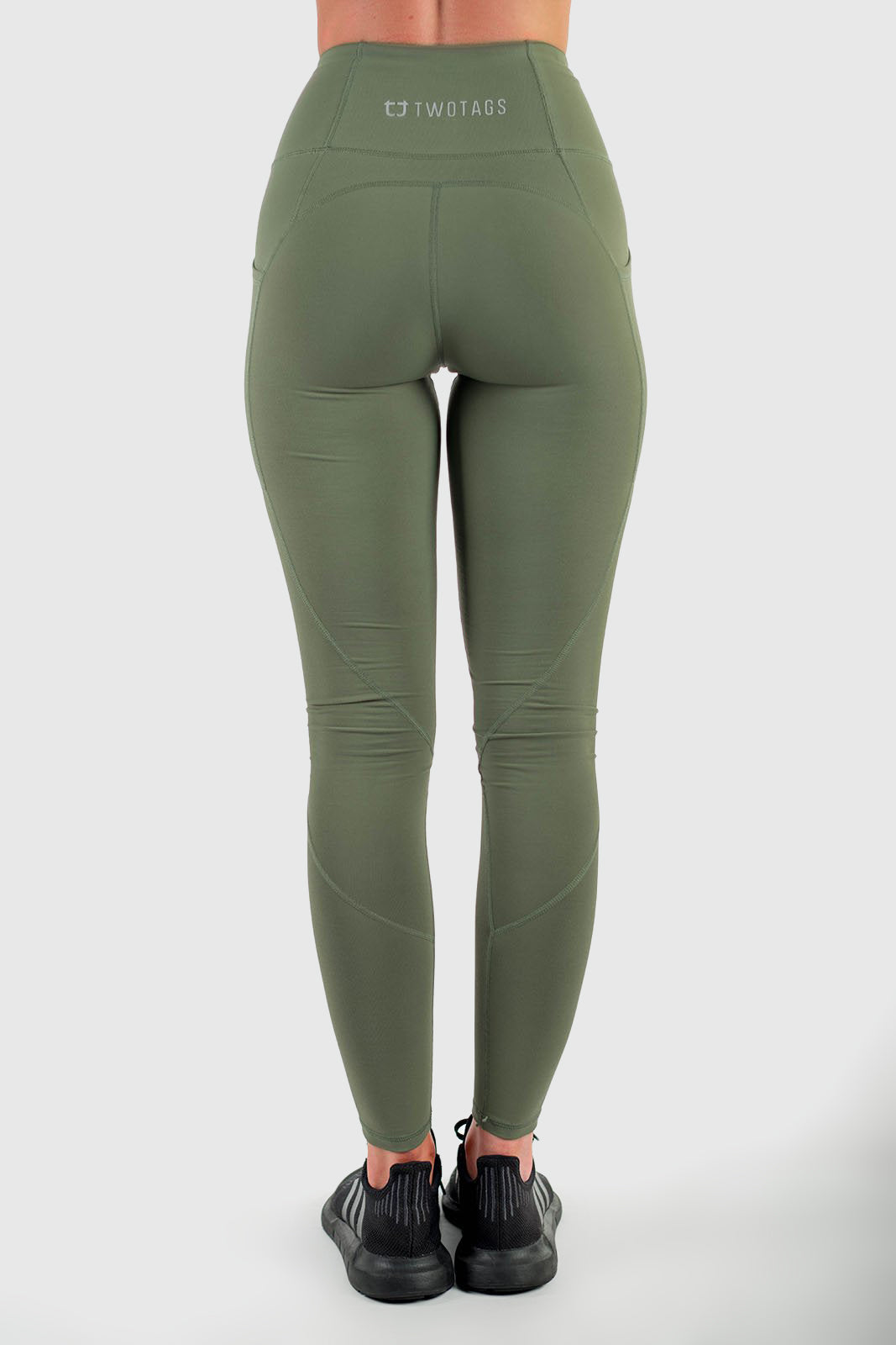 eb9f585933f72 Sweetheart Highwaisted Leggings - Olive – Twotags