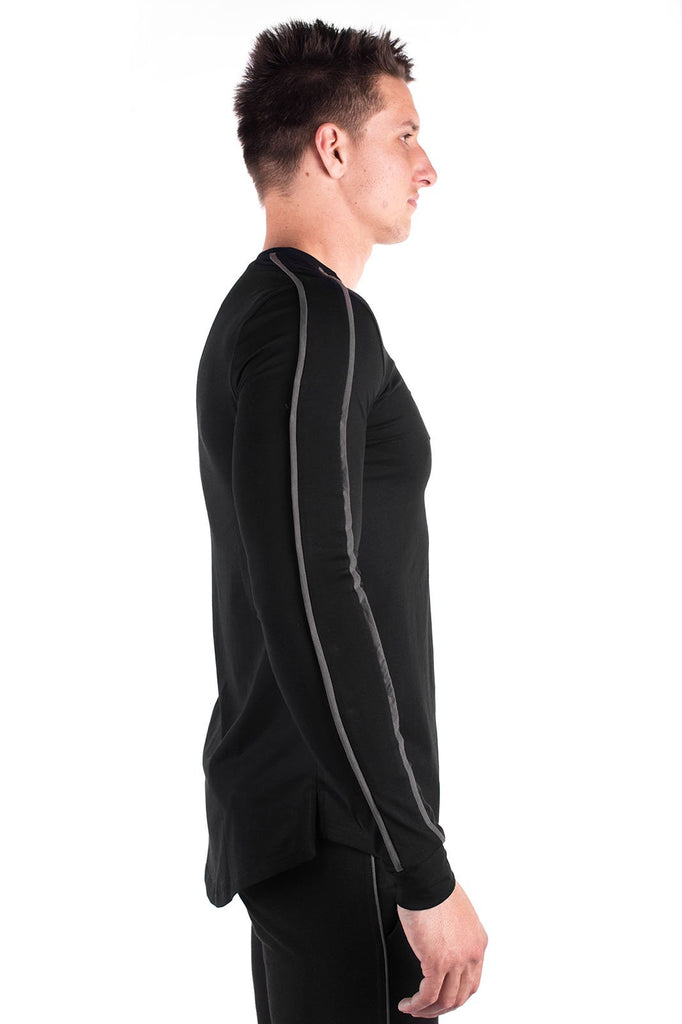 Verve Long Sleeve T-Shirt - Black