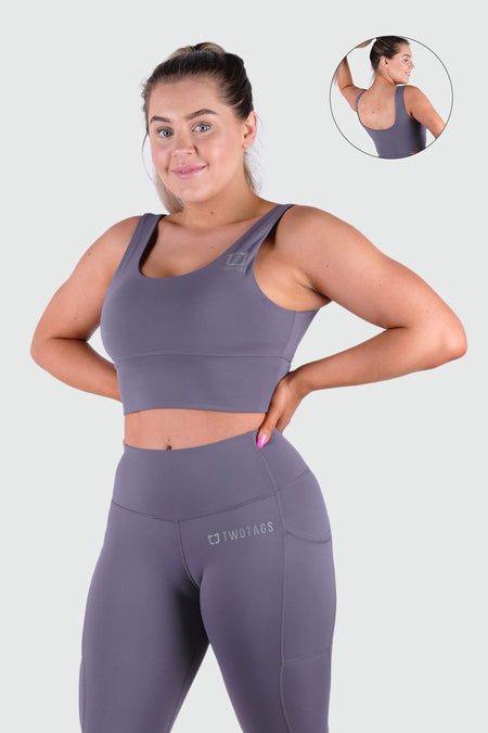 Bloom Sports Bras - Wine