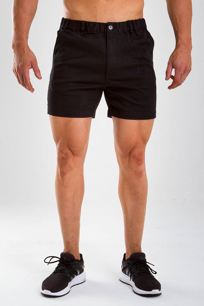 x Twotags Breaker Shorts - Black