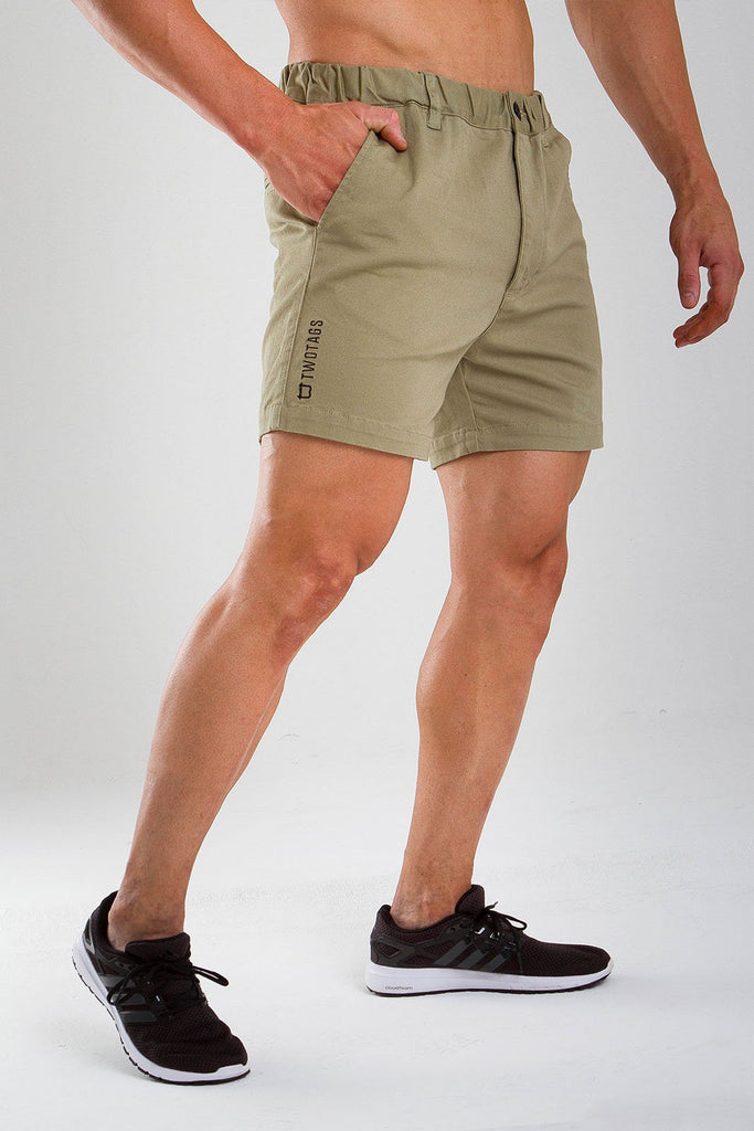 Twotags Breaker Shorts - Sage