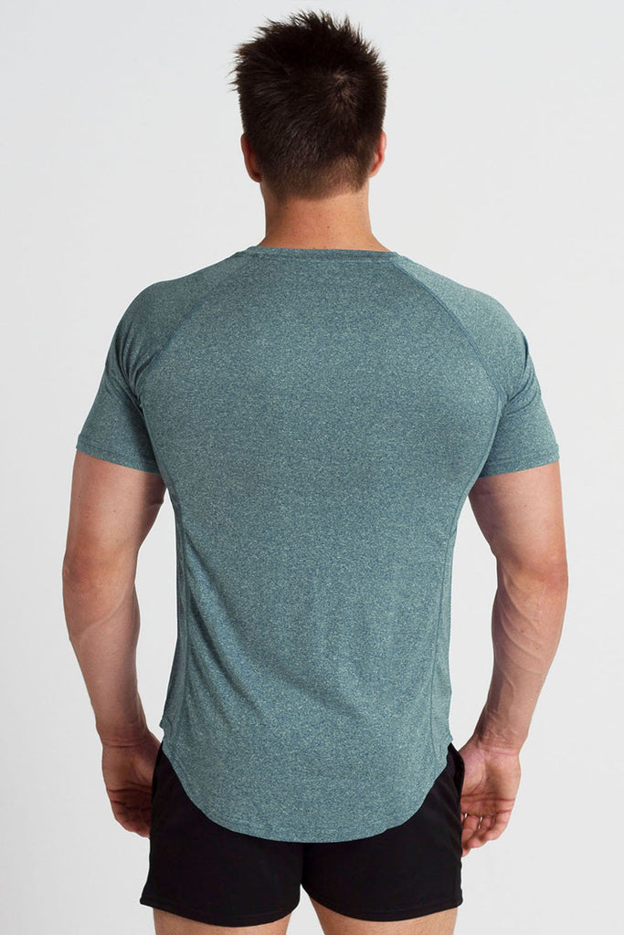 Twotags Cool Sweat V2 T-Shirt - Dark Teal