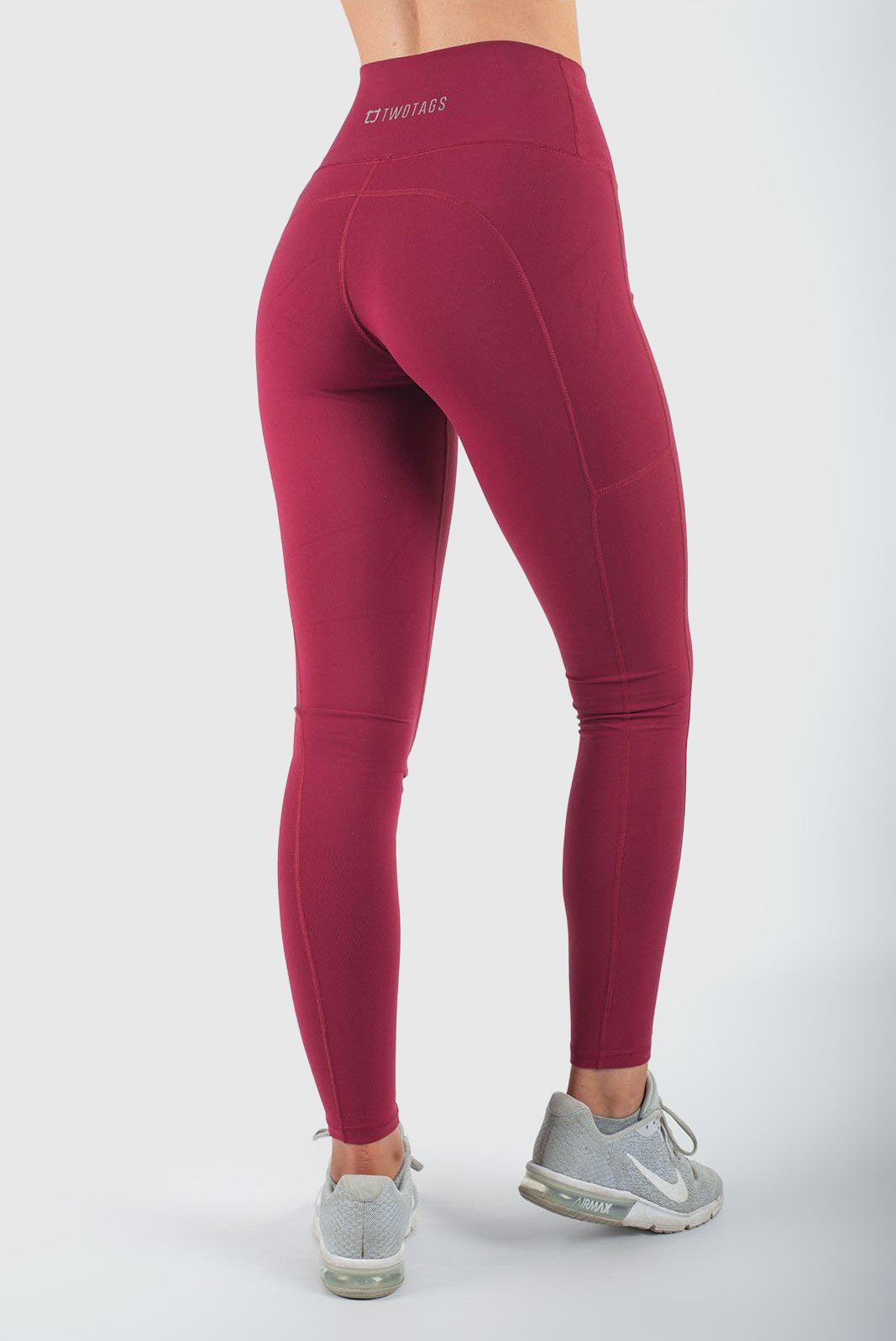 aaf104cf6c Core V2 Highwaisted Leggings - Cherry – Twotags