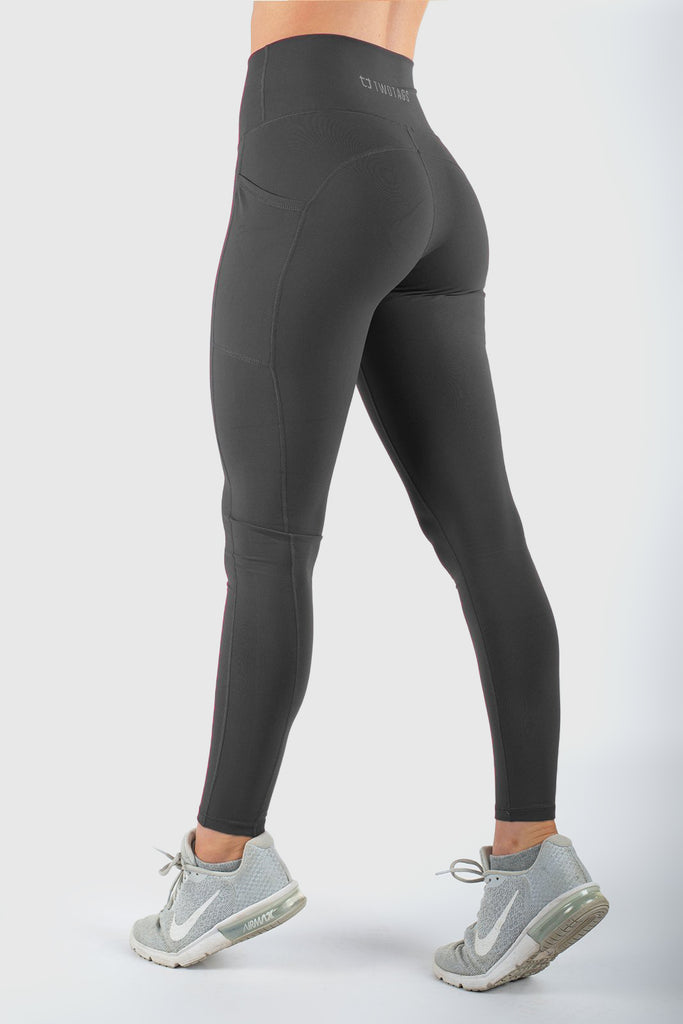 Core V2 Highwaisted Leggings - Slate Grey