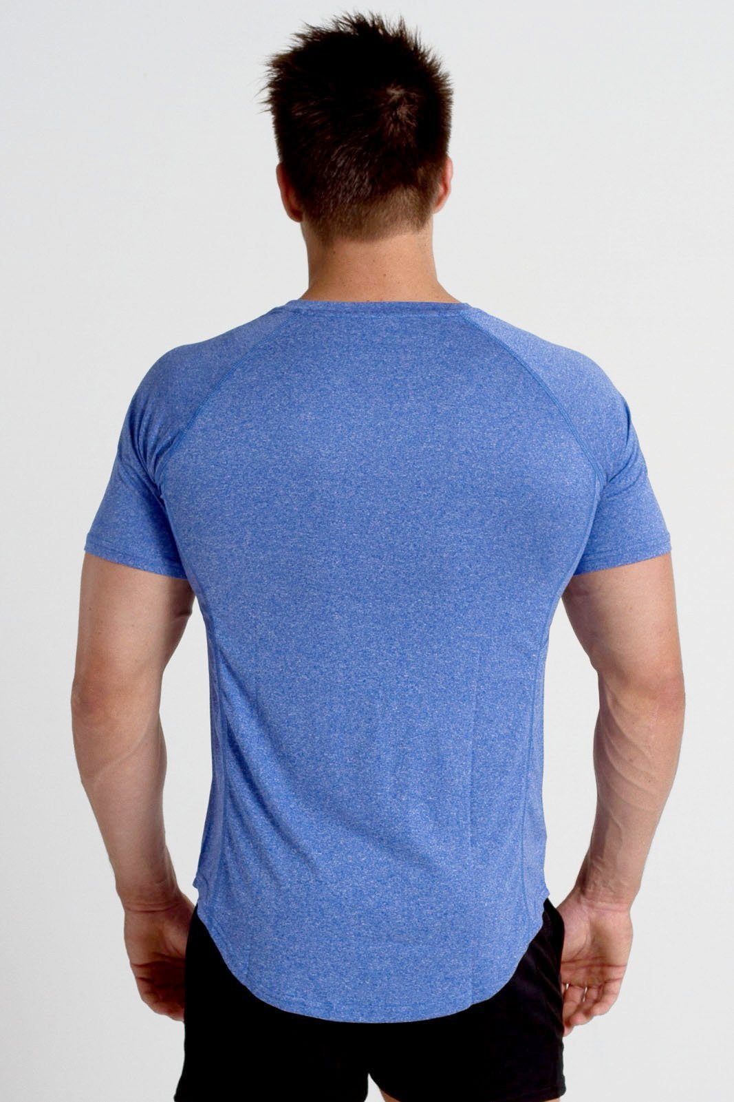 Twotags Cool Sweat V2 T-Shirt - Ultra Blue