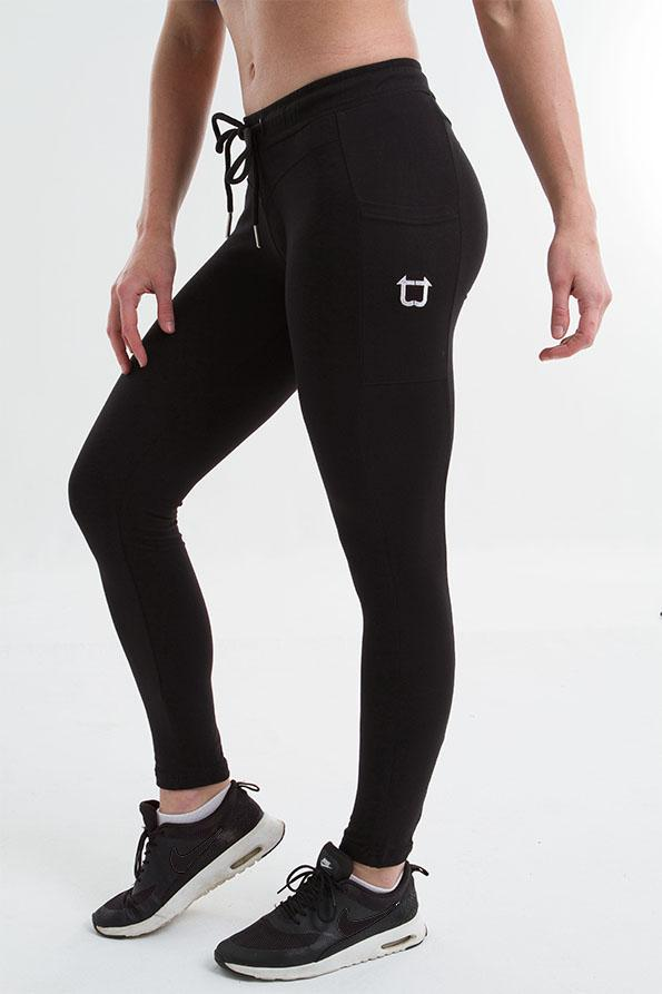 Twotags Ladies Gym Tech Jogger – Black