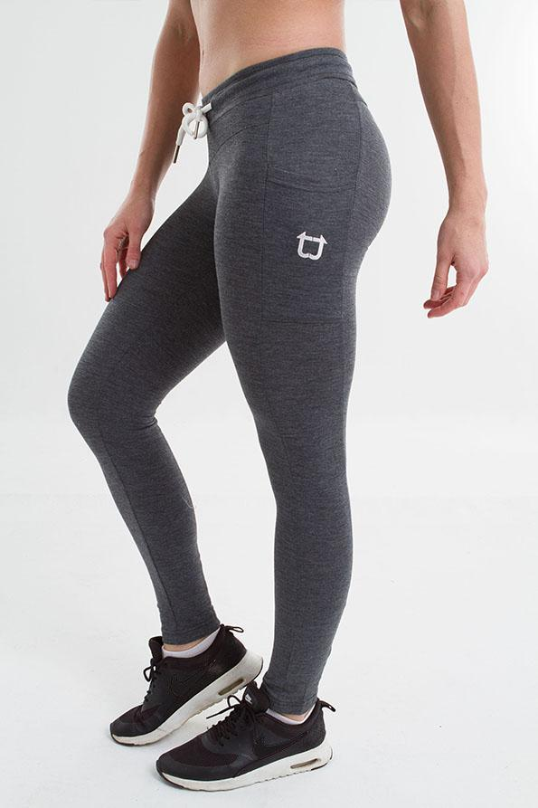 Twotags Ladies Gym Tech Jogger – Granite Grey