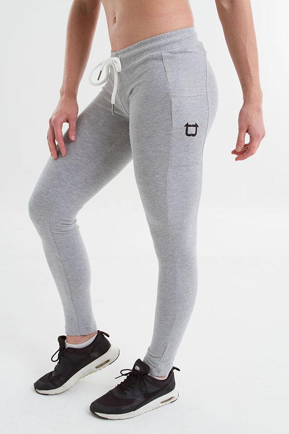 Twotags Ladies Gym Tech Jogger – Snow Grey