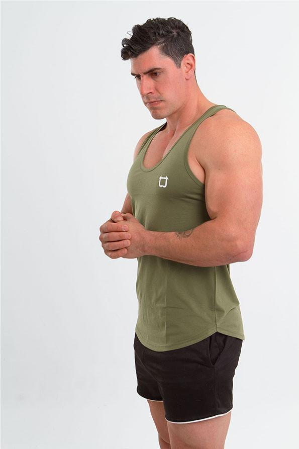 Twotags Charge Stringer - Khaki
