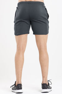Twotags Mesh Wind Shorts - Charcoal