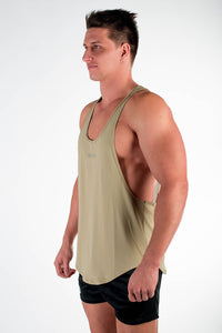 Purpose Stringer - Grey Olive