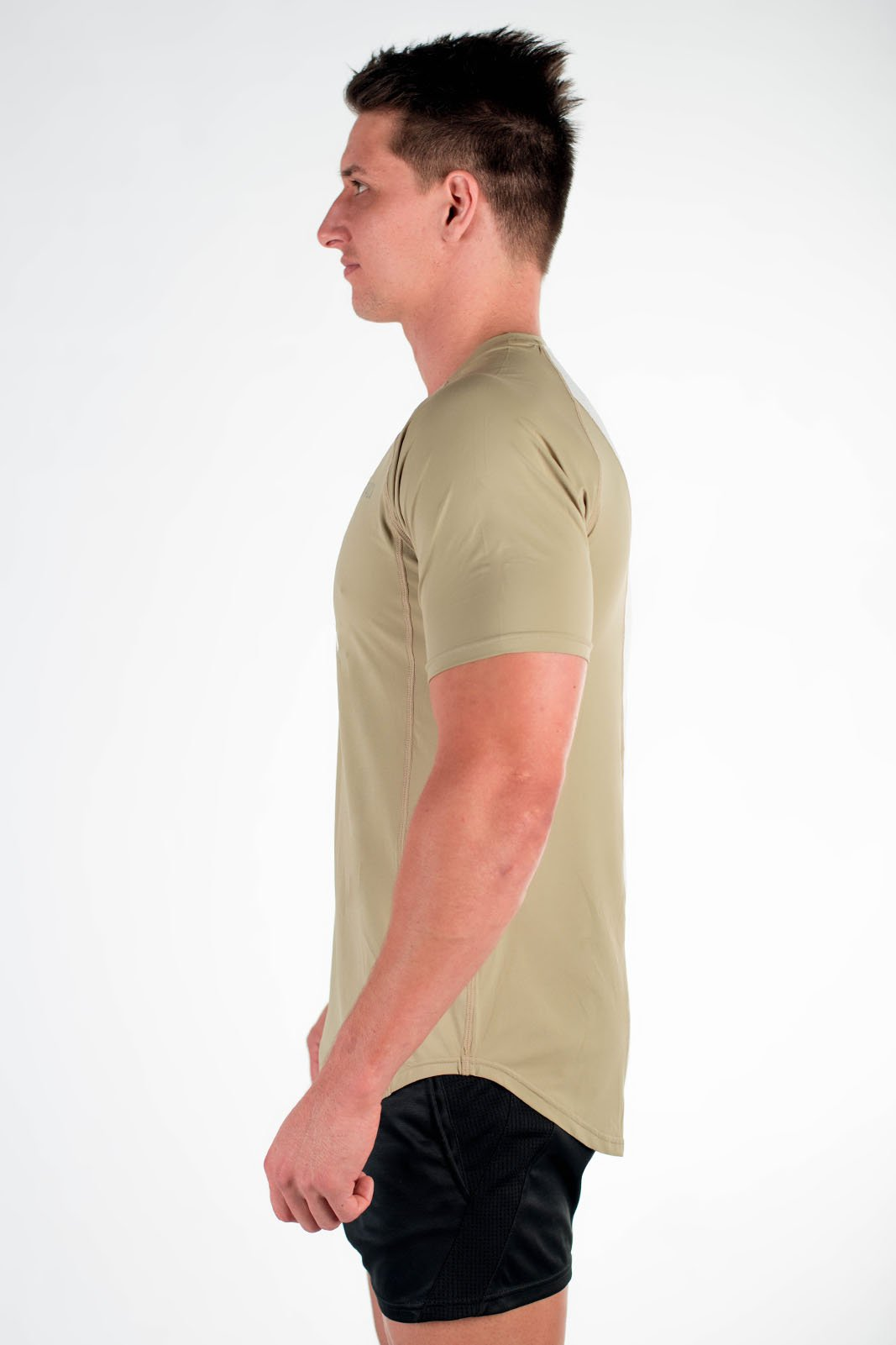 Twotags Purpose T-Shirt - Grey Olive