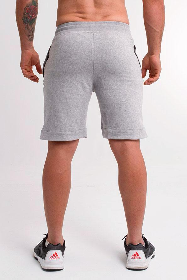 Twotags Trackster Sweat Shorts - Heather Grey