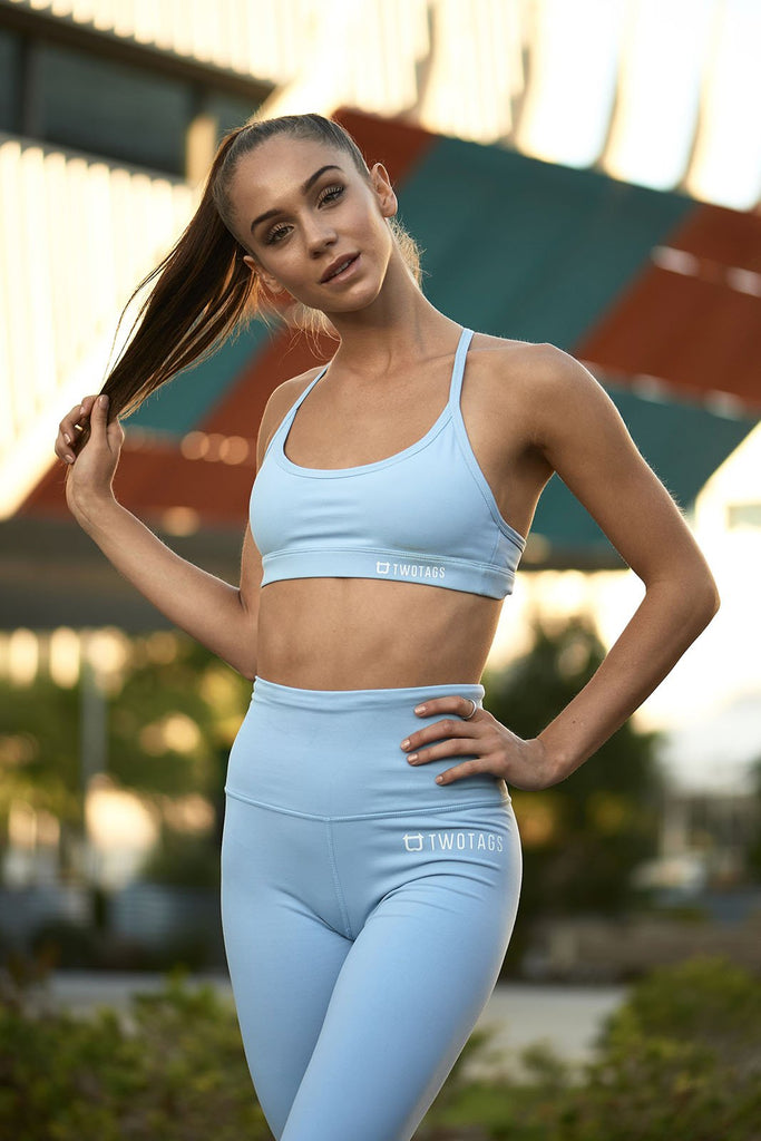 Twotags Ladies Ultimate Sports Bras – Baby Blue