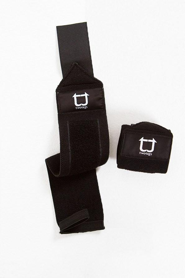 Twotags Wrist Wraps - Black
