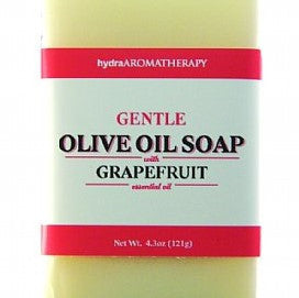 Aromatherapy Olive Oil Soap with Grapefruit
