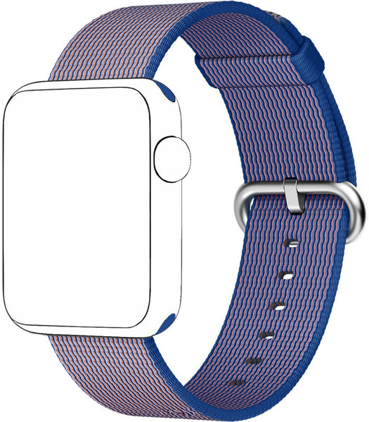 SELLERS360 Royal Blue Nylon Replacement Band for Apple iWatch