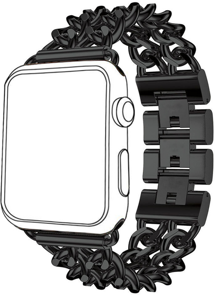 Apple iWatch Metal Replacement Band with Flexible Chains Style Bracelet