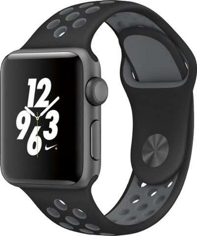 Apple Watch Band Black/Cool Grey for Series 1/2/3 by Sellers360